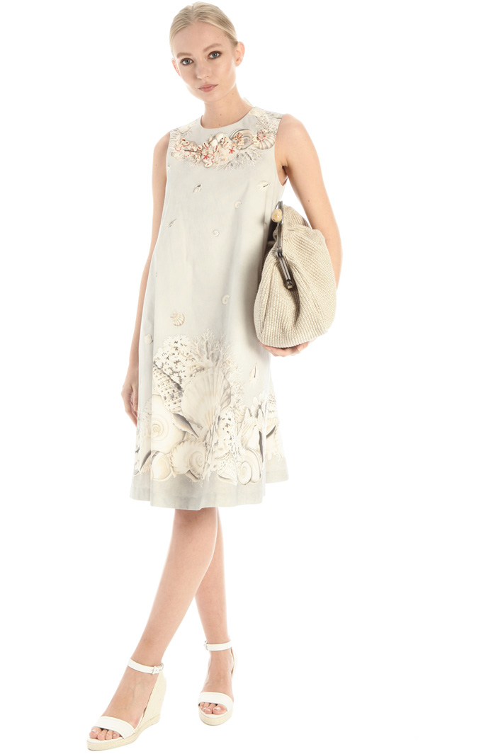 Cotton faille dress Intrend