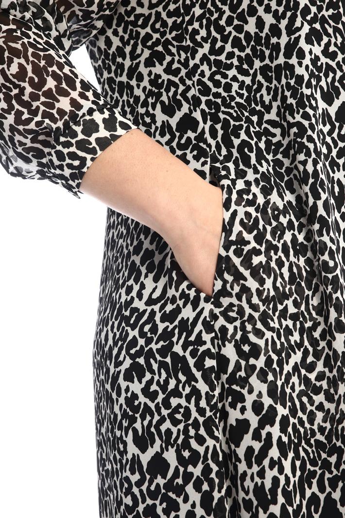 Georgette chemisier dress Intrend