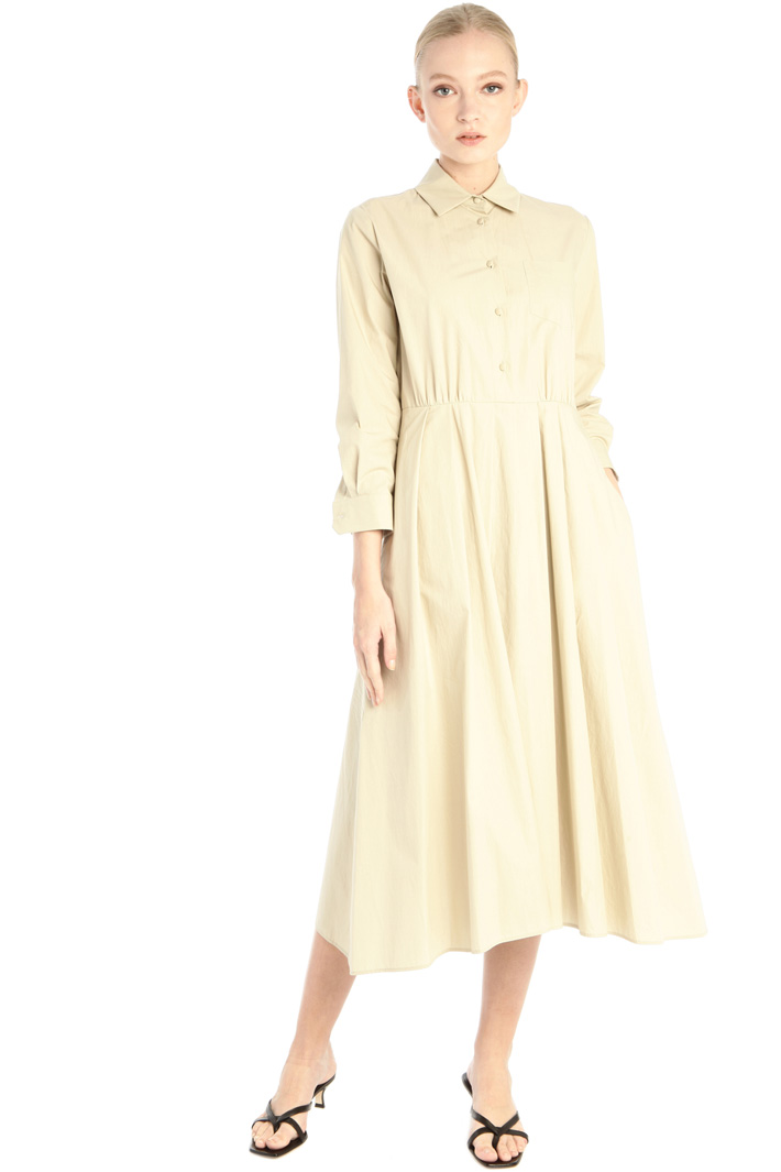 Cotton poplin dress Intrend