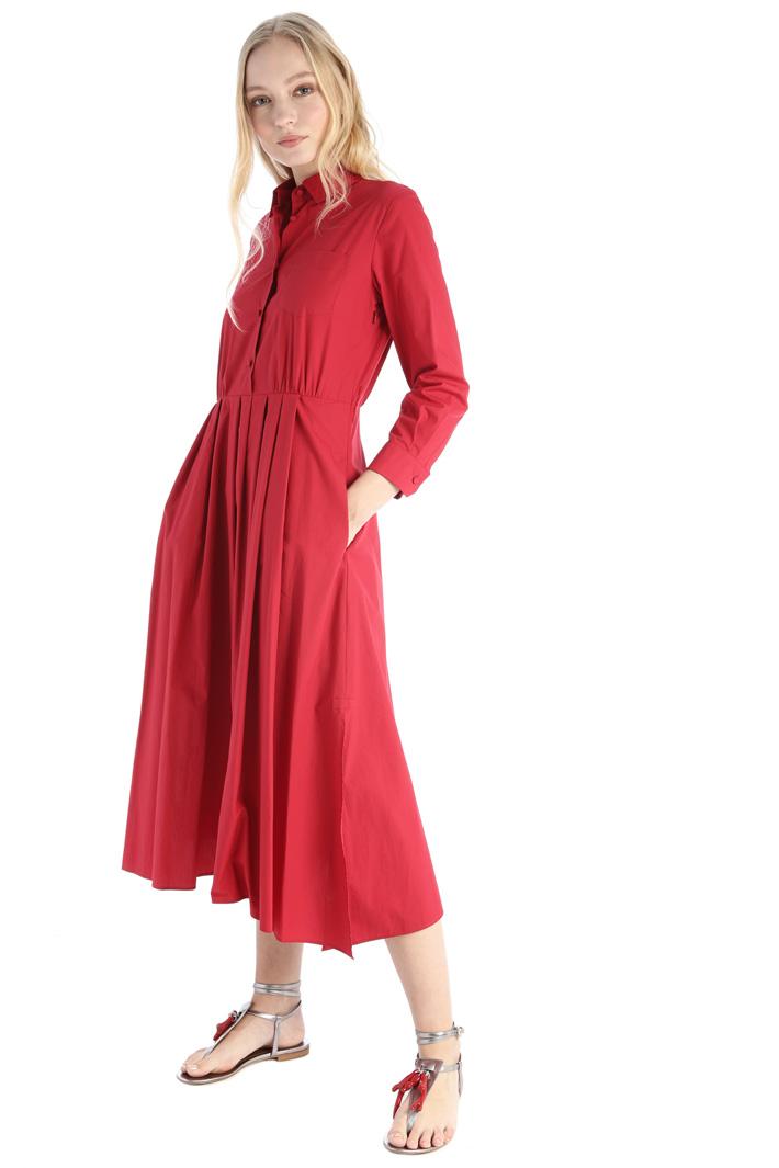 Cotton poplin dress Intrend