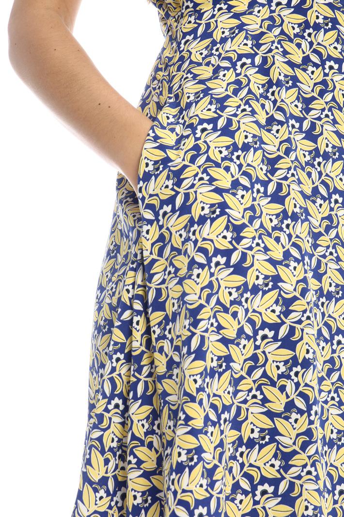 Silk wrap-up dress Intrend