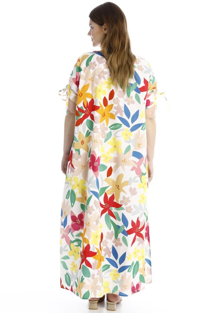 Long poplin dress Intrend