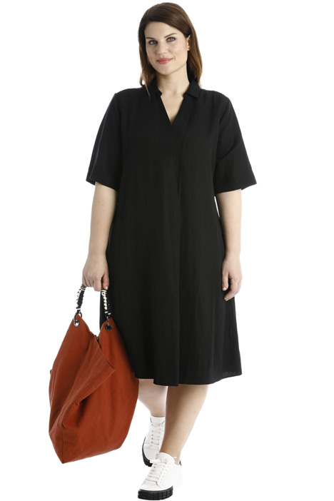 Dress in Tencel-linen blend Intrend