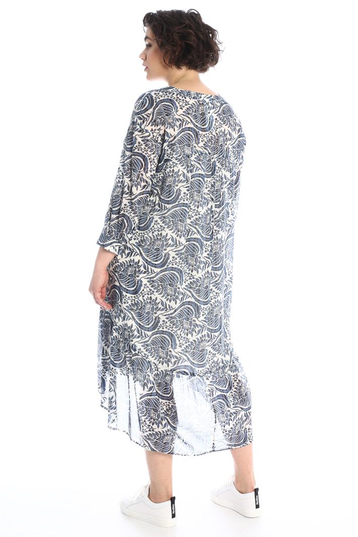 Printed muslin dress Intrend