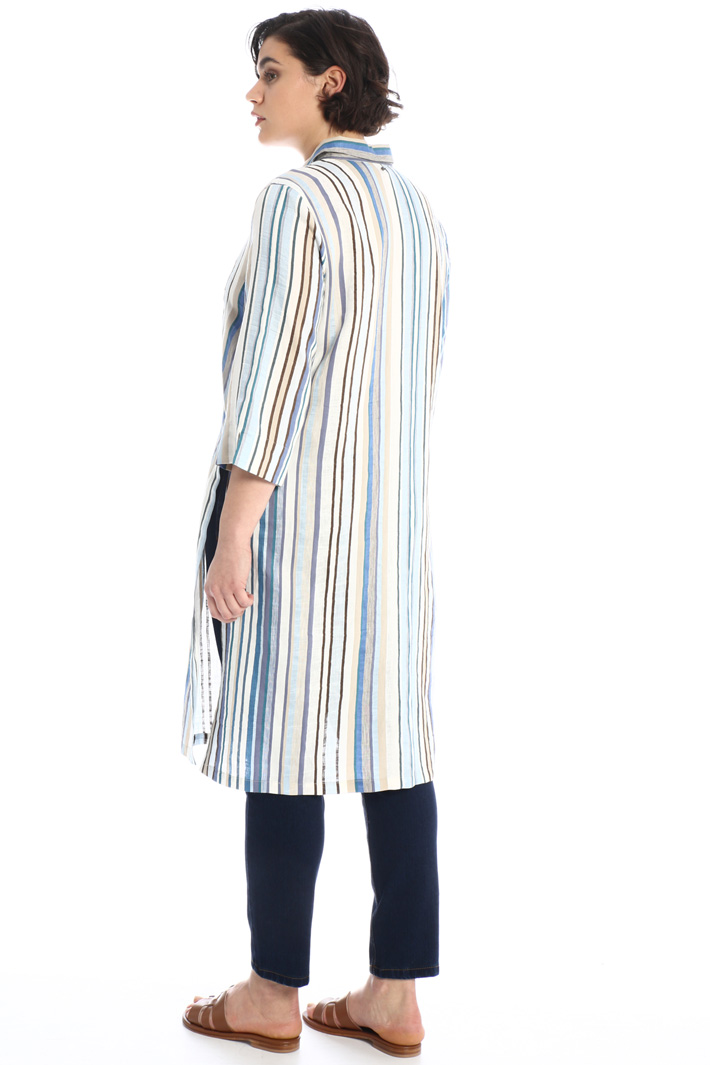 Linen and cotton tunic  Intrend