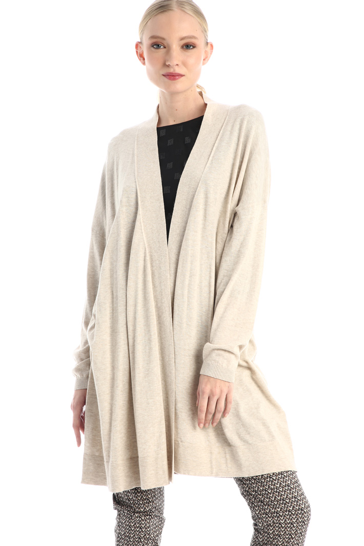 Cotton and wool cardigan Intrend
