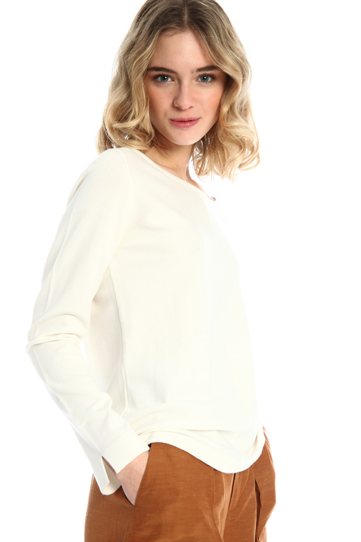 Boat neck sweater Intrend