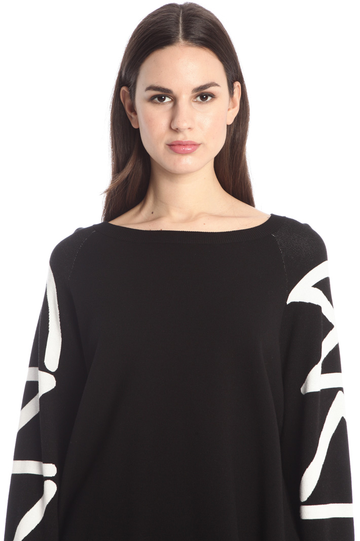 Compact knit sweater Intrend