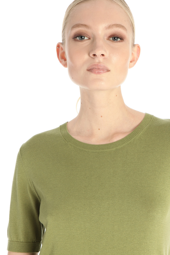 Short sleeve sweater Intrend