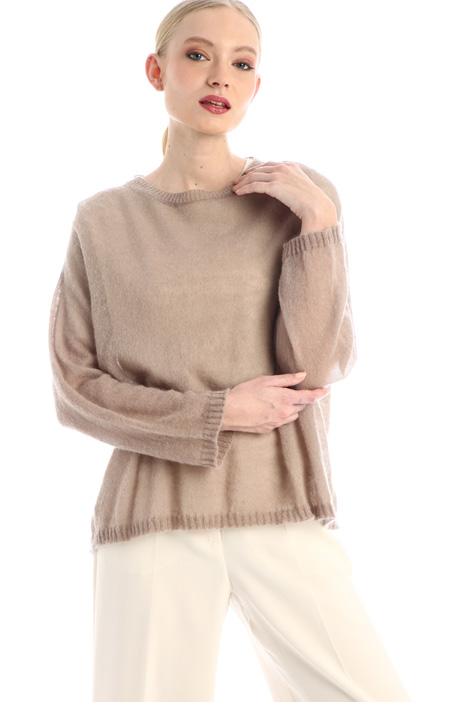 Wool and mohair sweater Intrend