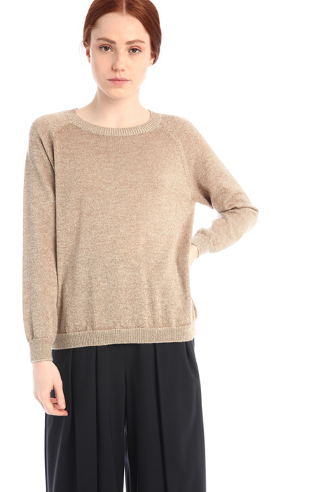 Lurex and wool sweater Intrend