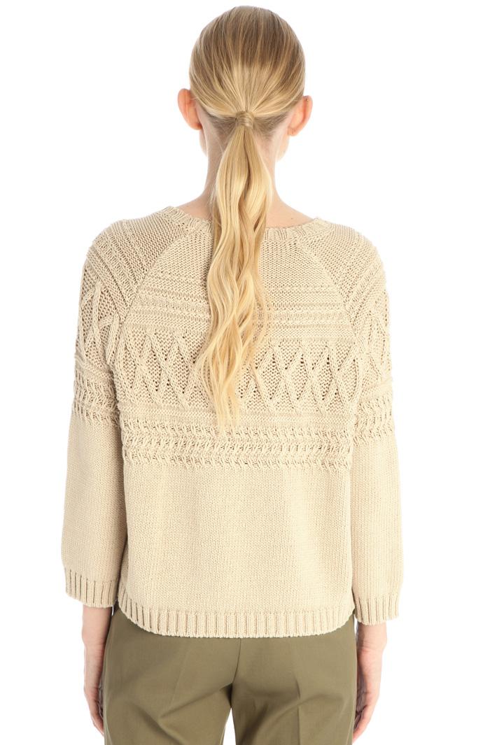 Raised stitch sweater Intrend