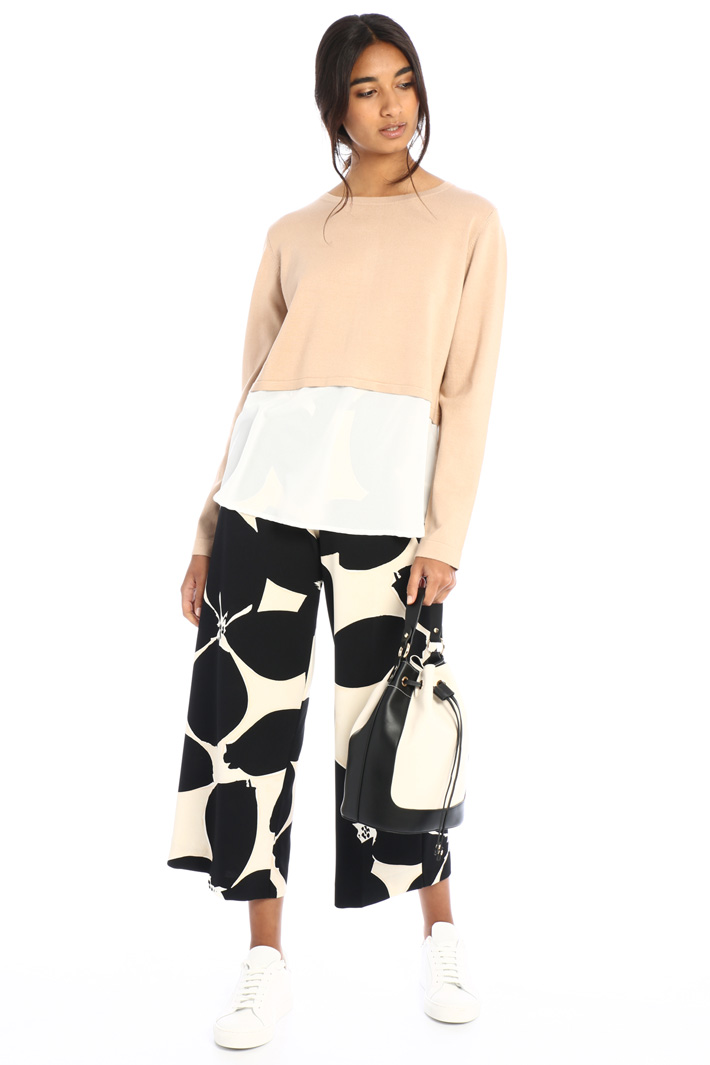 Double-effect sweater Intrend