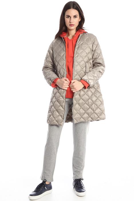 Diamond pattern jacket Intrend