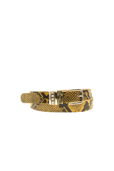 Leather belt Intrend