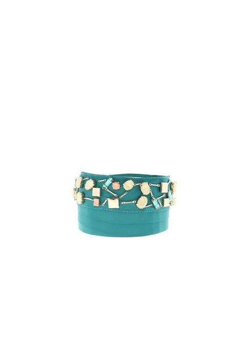 Grosgrain jewel belt Intrend