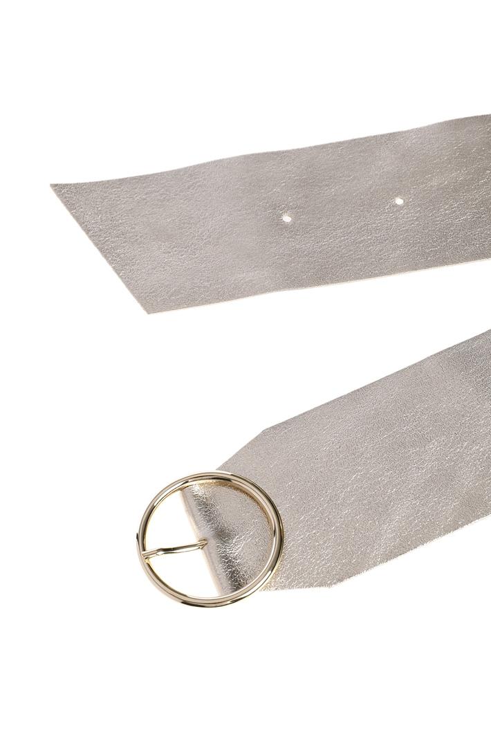 Metallised belt Intrend