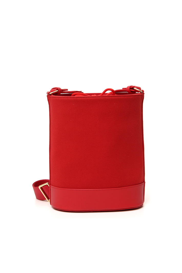 Cotton canvas bucket bag Intrend