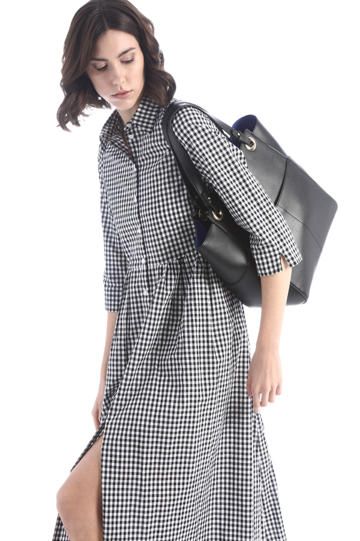 Faux leather shopper Intrend
