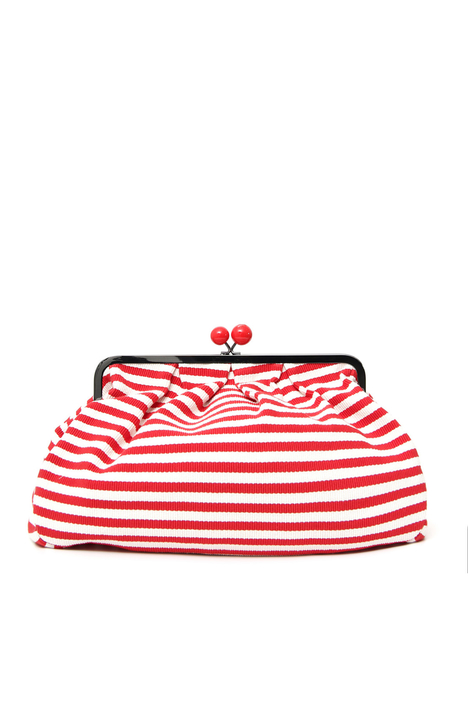 Striped clutch Intrend
