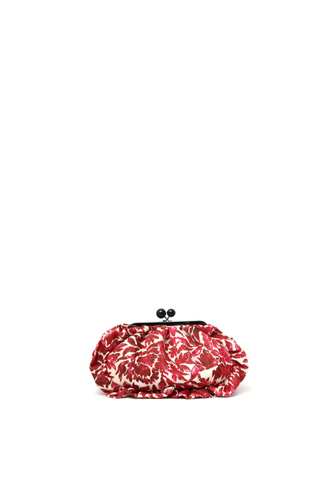 Clutch con stampa allover Intrend