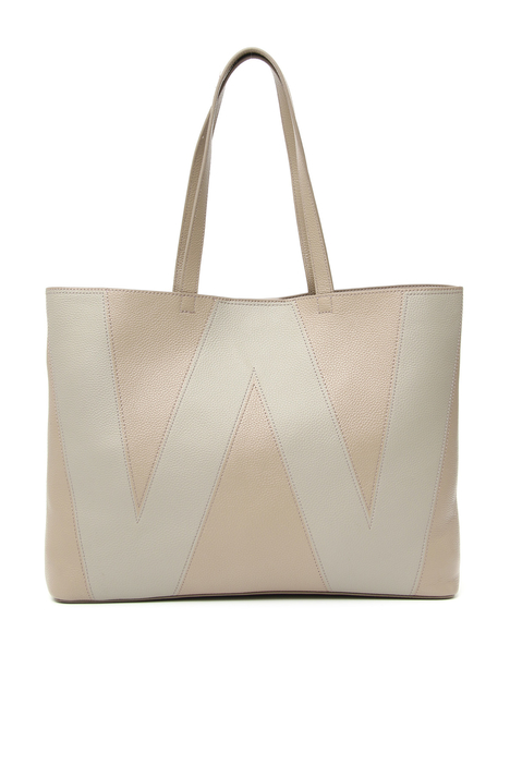 Leather shopper Intrend