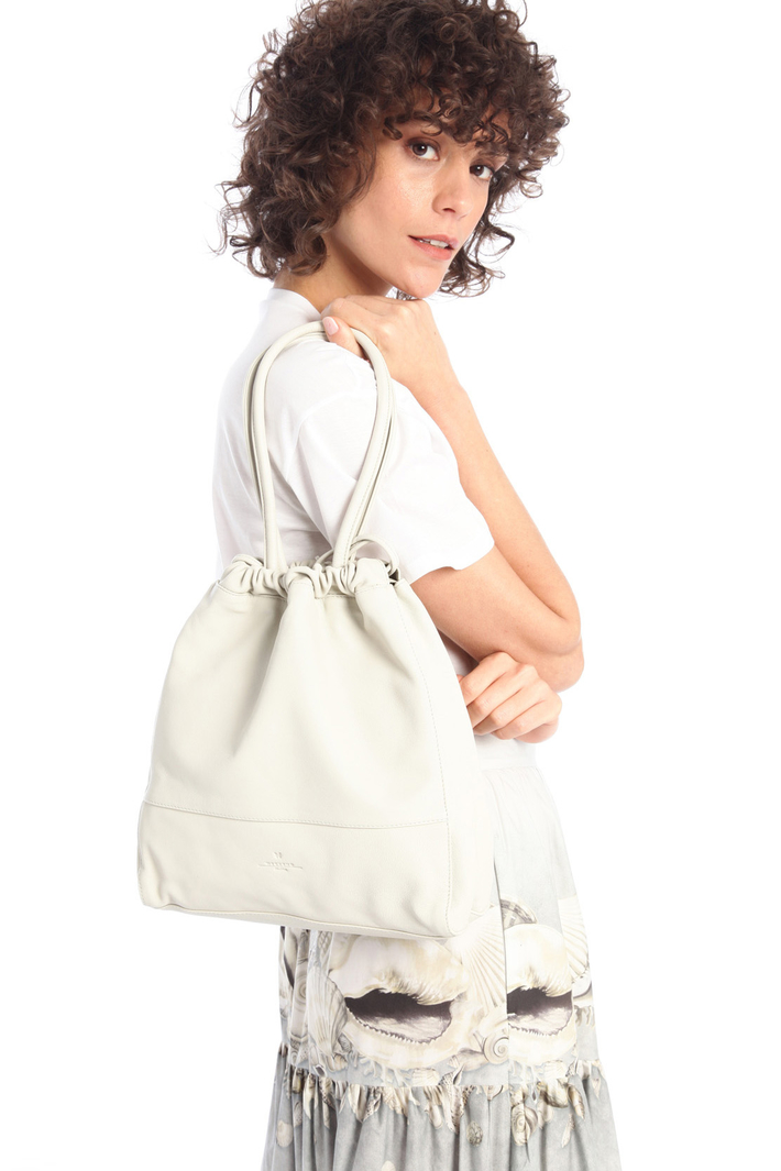 Drawstring leather bag Intrend
