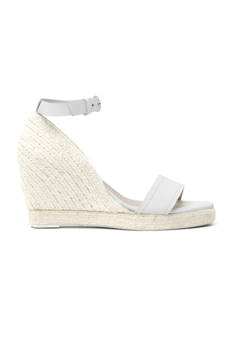Leather and rope sandals Intrend