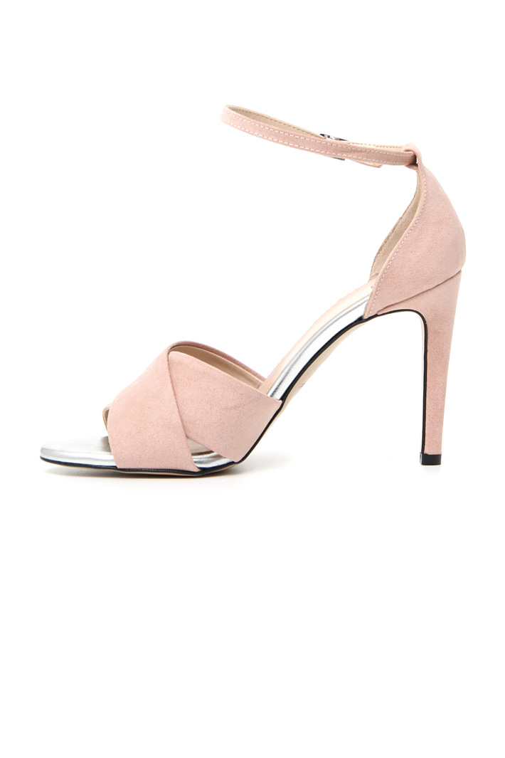 Suede effect sandals Intrend
