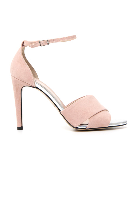 Suede effect sandals Intrend