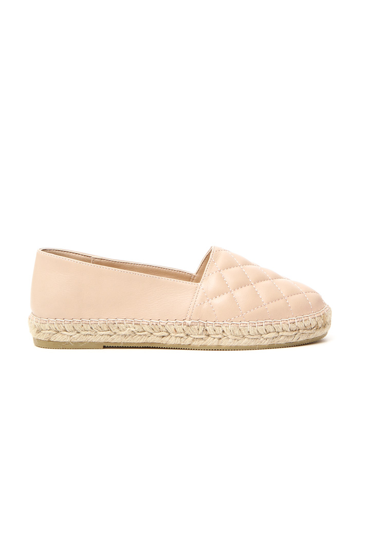 Quilted moccasin Intrend