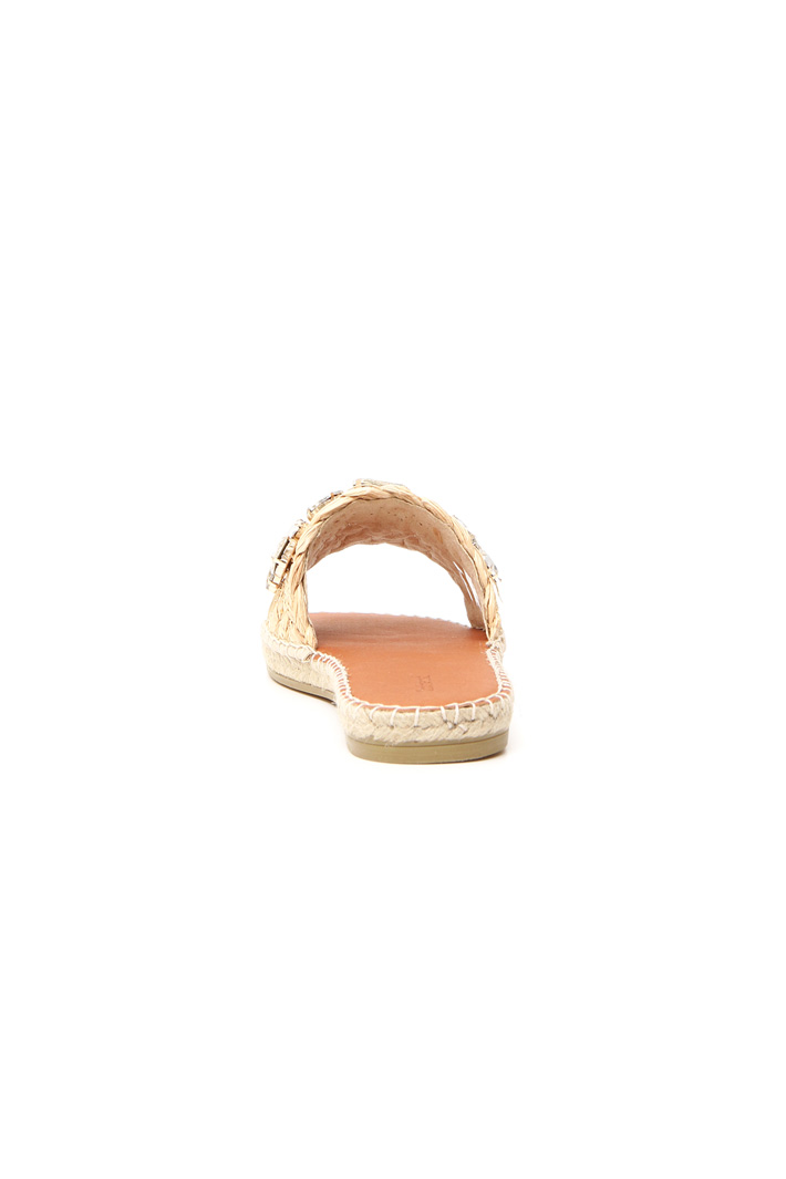 Jewel-detailed slippers Intrend