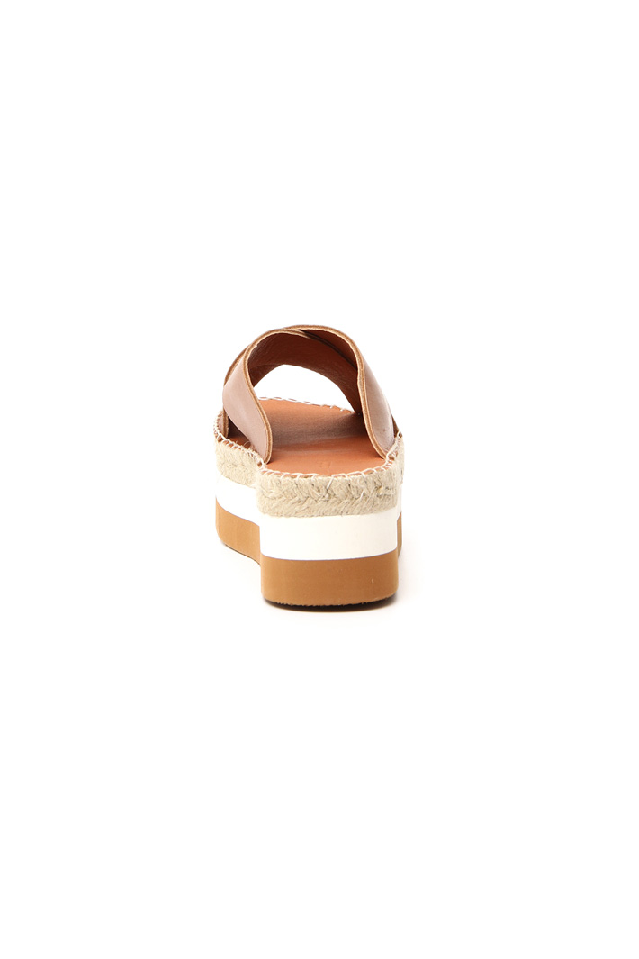 Braided platform slippers Intrend