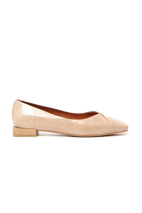 Square toe ballerinas Intrend