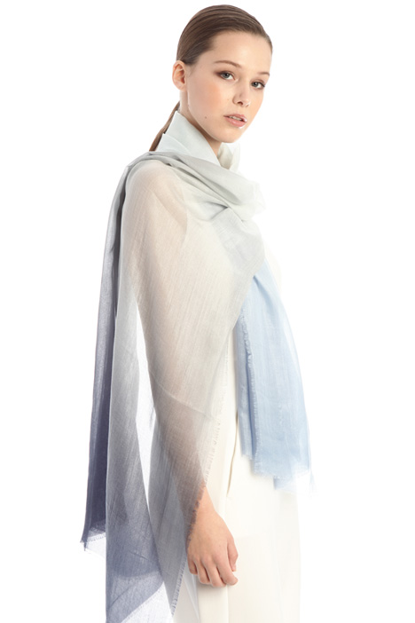 Lurex silk stole Intrend