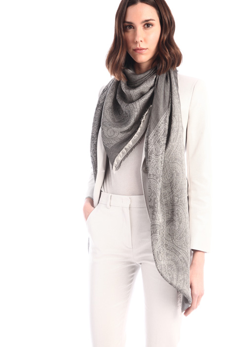 Cotton blend scarf Intrend