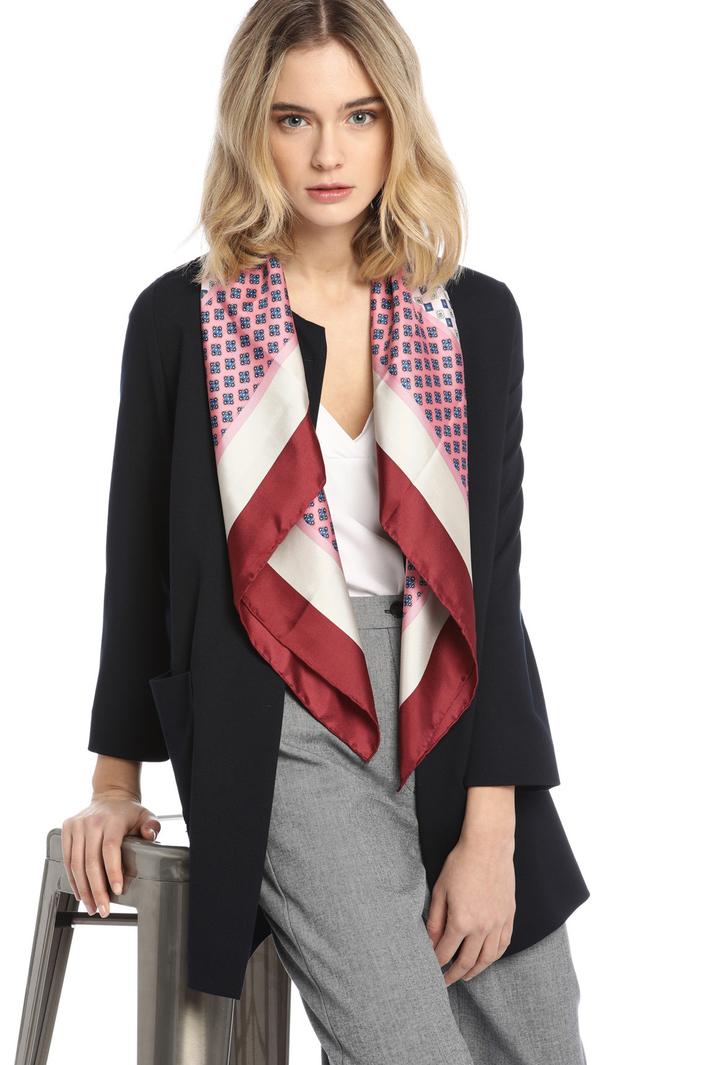 Printed silk foulard Intrend