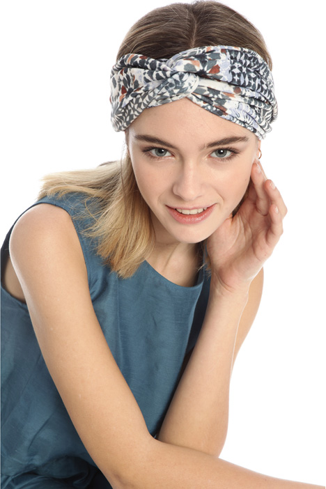 Printed jersey headband Intrend