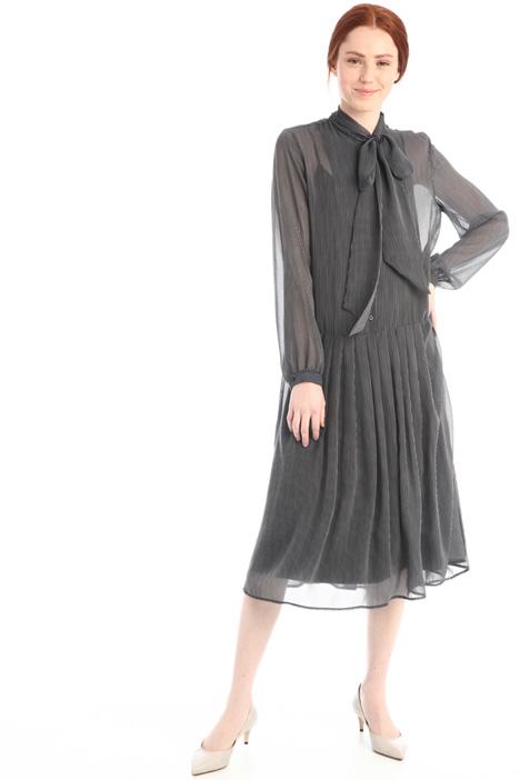 Scarf-neck dress Intrend