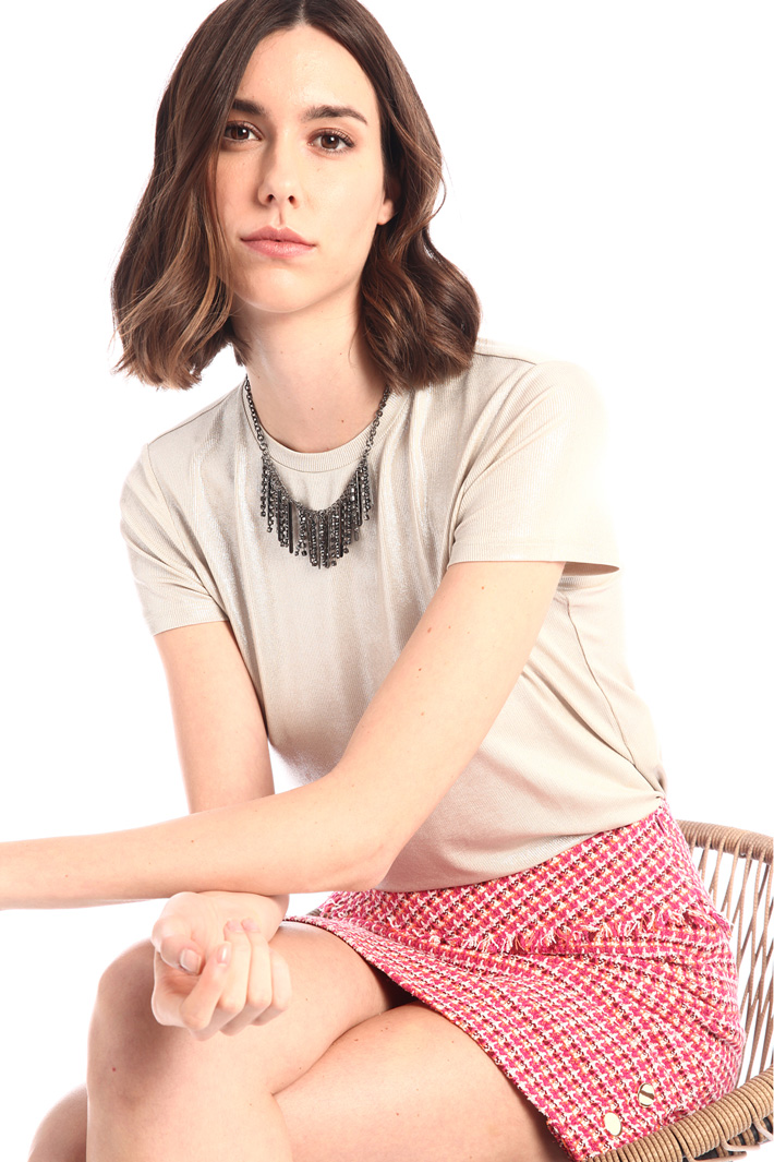 Fringed chocker necklace Intrend