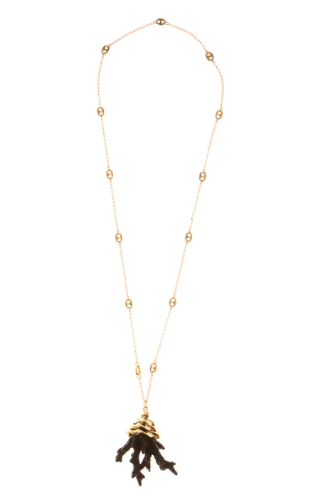 Coral pendant necklace Intrend