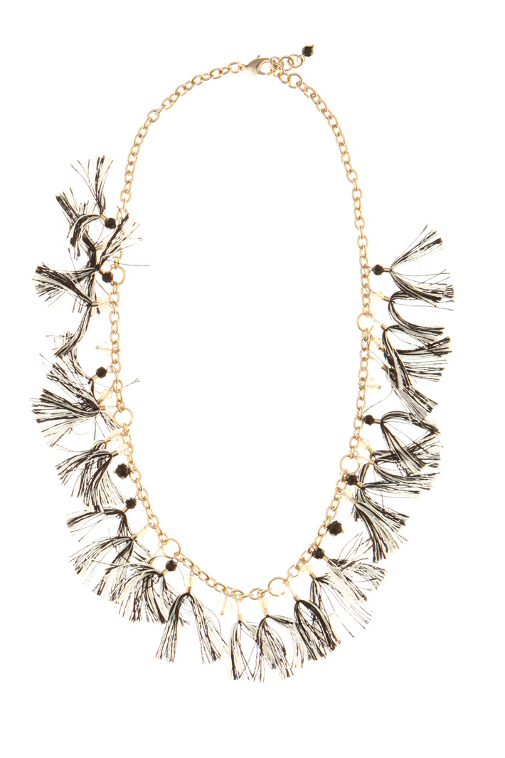 Chain necklace with tassels Intrend