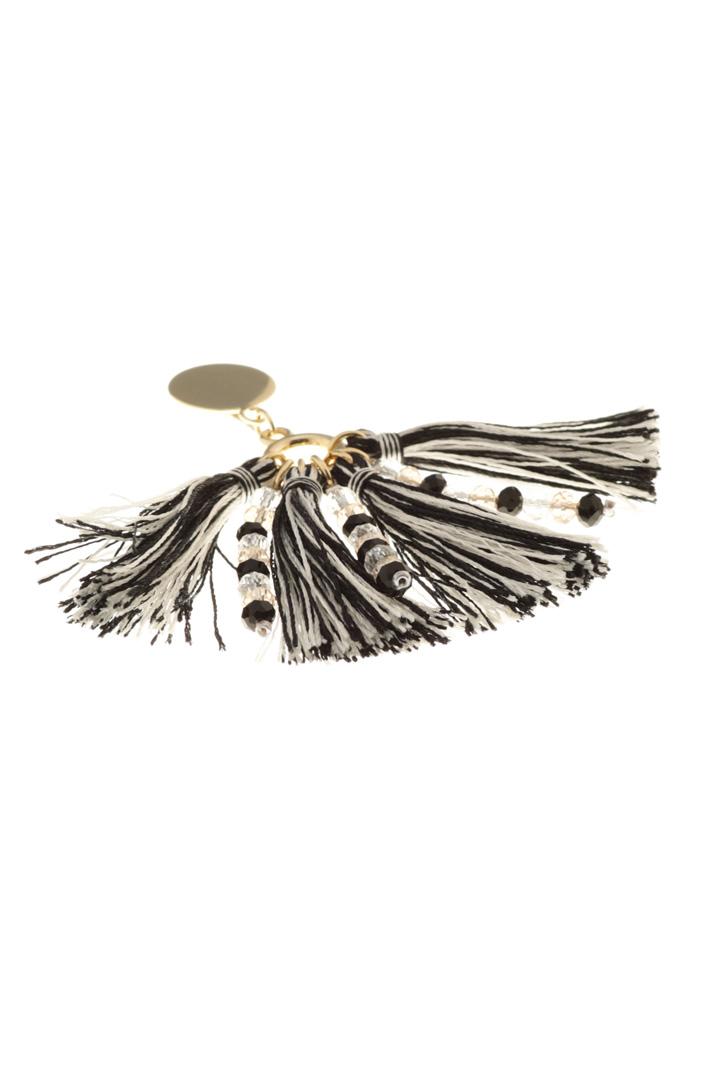 Tassels and bead earrings Intrend