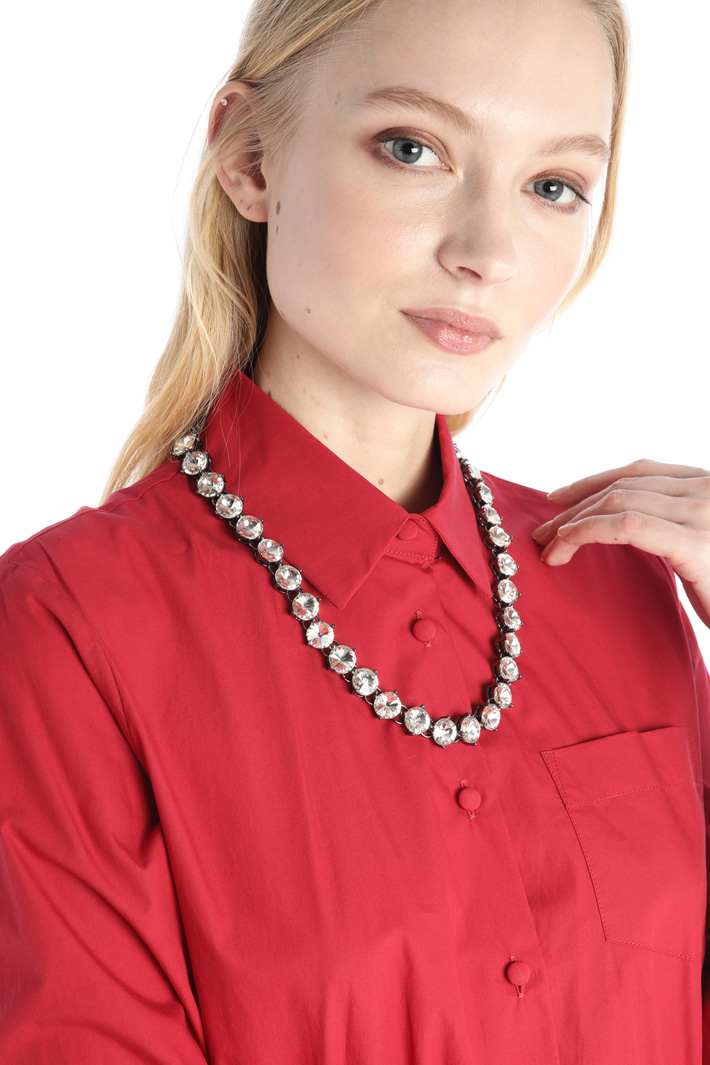 Crystal necklace Intrend