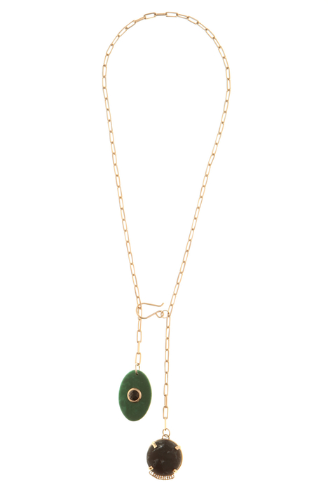 Necklace with resin charm Intrend