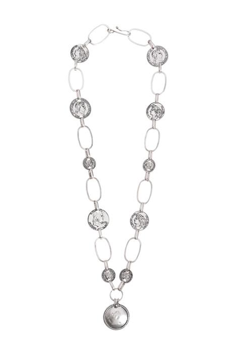 Long metal necklace Intrend