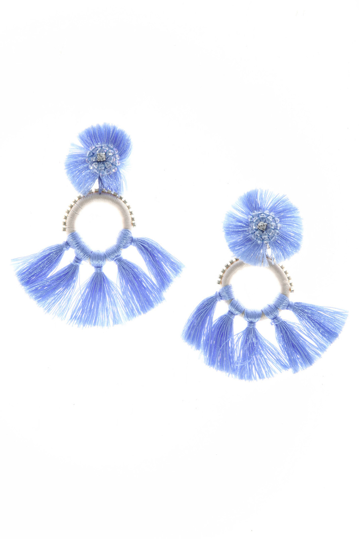 Thread earrings Intrend