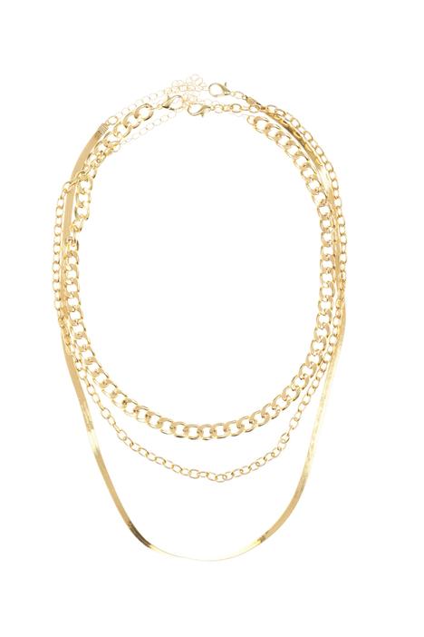 Metal set of necklace Intrend