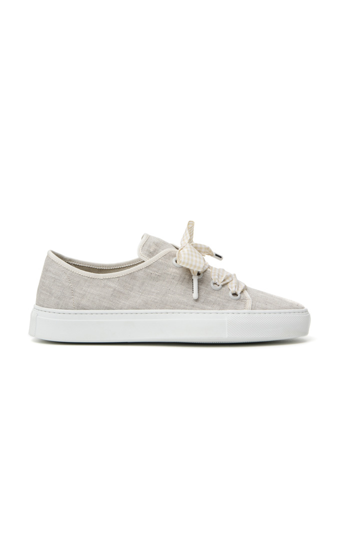 Linen canvas trainers Intrend