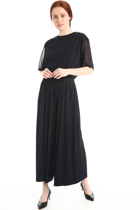 Pleated jersey trousers Intrend